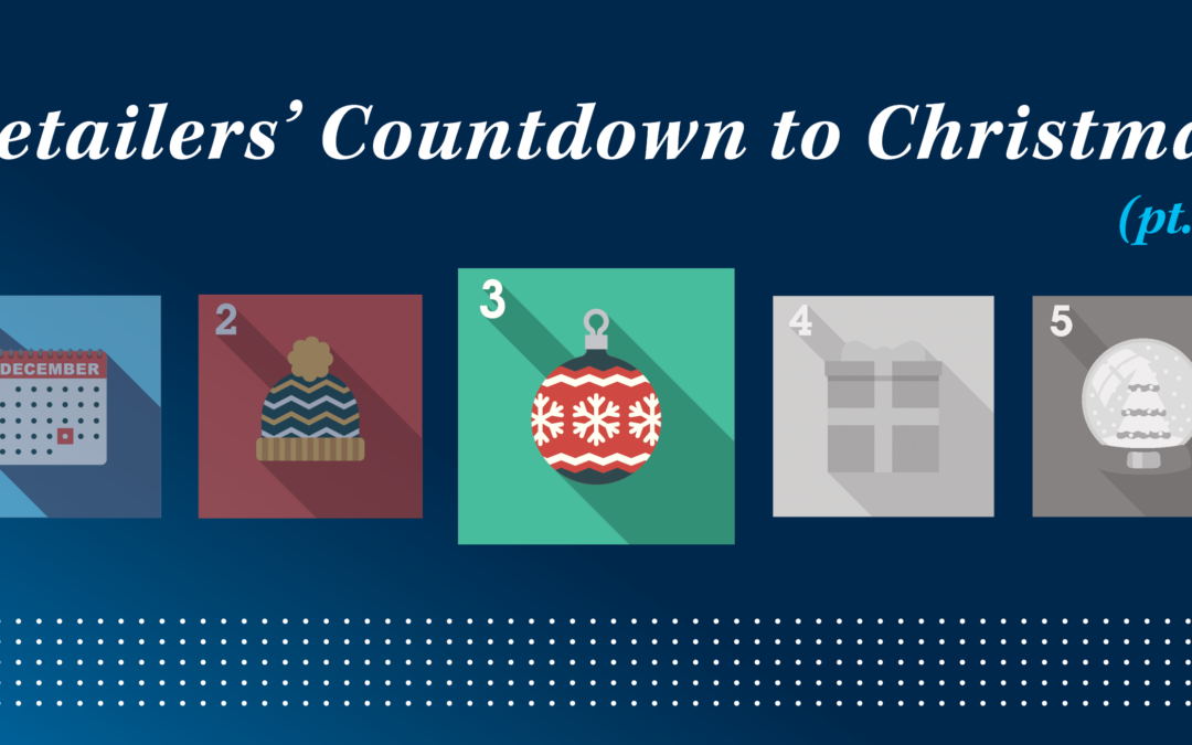 Retailers' Countdown to Christmas (pt. 3)